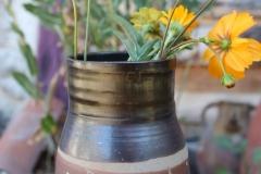 Vase gravé