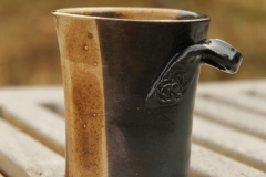 Tasse à café bicolore
