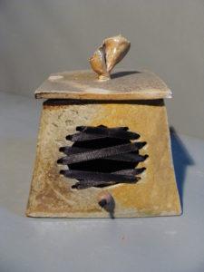 boite tressage satin cuite au bois